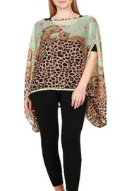 Patricia's Presents Leopard Tunic - Front cropped