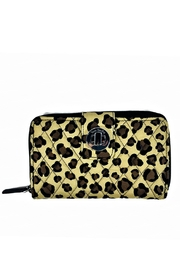 Vera Bradley Leopard Turnlock Wallet - Product Mini Image