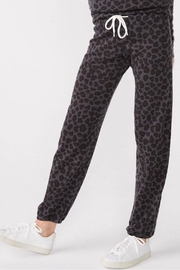 Monrow Leopard Vintage Sweats - Front cropped