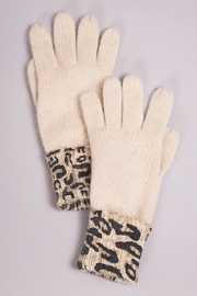 Simply Noelle Leopard Winter Gloves - Product Mini Image