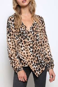 Mittoshop LEOPARD WOVEN TOP - Product List Image