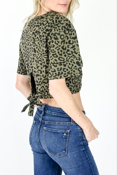 Six Fifty Leopard Wrap Tee - Product List Image