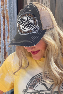 shop my boutique  Leopard Yellowstone Hat - Product List Image