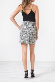 Urban Touch Leopardprint Midi Skirt - Side cropped