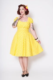 Putre Fashion Leota Polka-Dot Dress - Product Mini Image