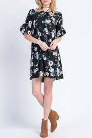 Les Amis Black Floral Dress - Product Mini Image