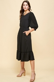 Les Amis Darling Black Dress - Front full body