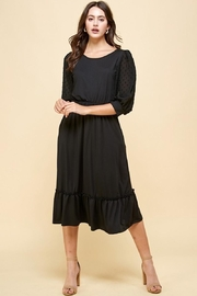 Les Amis Darling Black Dress - Product Mini Image