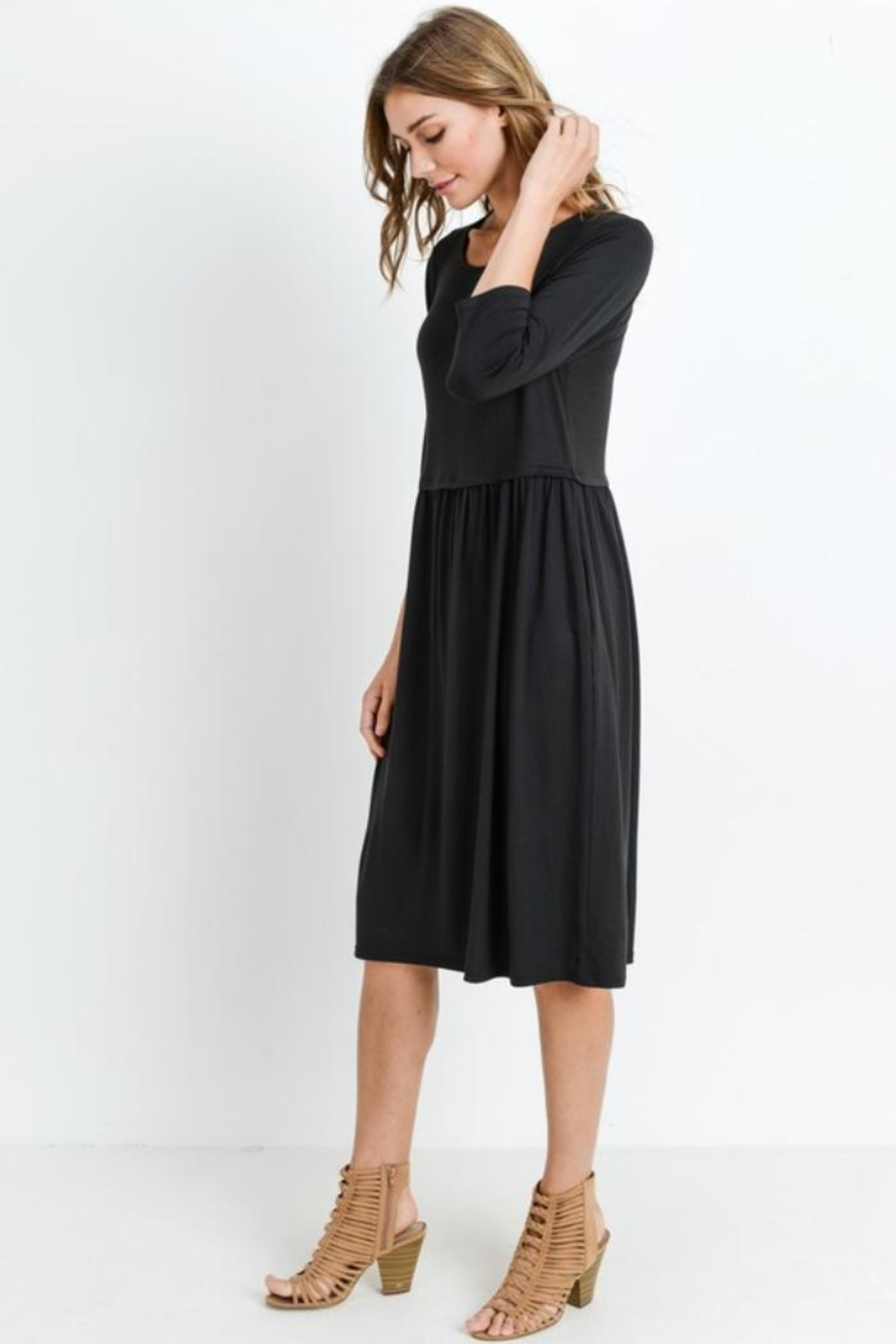 Les Amis Easy Dress - Front Full Image