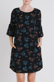 Les Amis Floral Print Dress - Product Mini Image