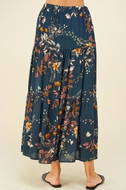 Les Amis Layered Floral Maxi Skirt - Other