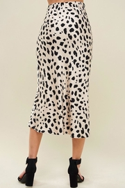 Les Amis Leopard Midi Skirt - Other