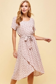 Les Amis Pretty In Blush Floral Dress - Product Mini Image