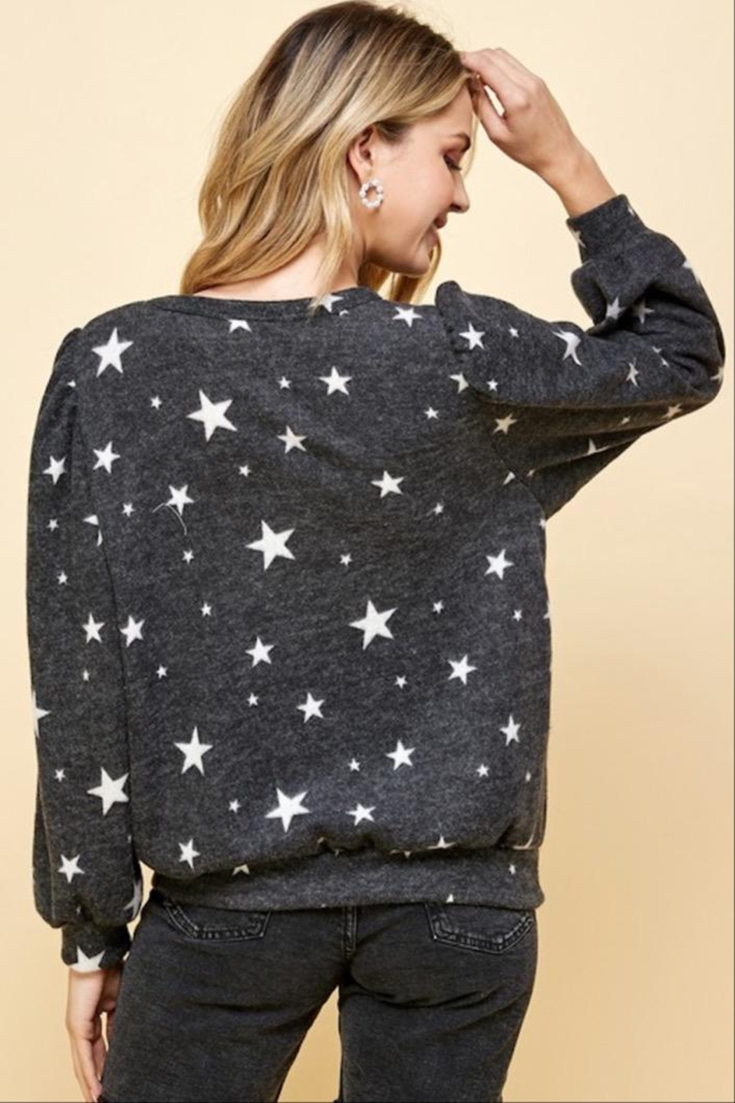 Les Amis Star Of The Softest Sweater - Side Cropped Image