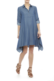 Leshop Denim Blue - Front full body