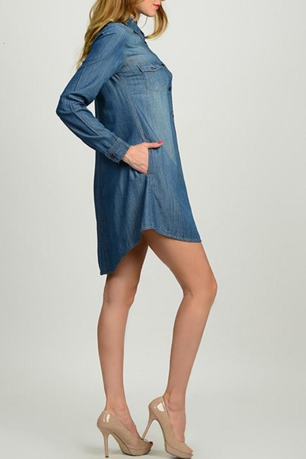 659b57375 Leshop Denim Shirt Dress from Missouri by Domi More — Shoptiques