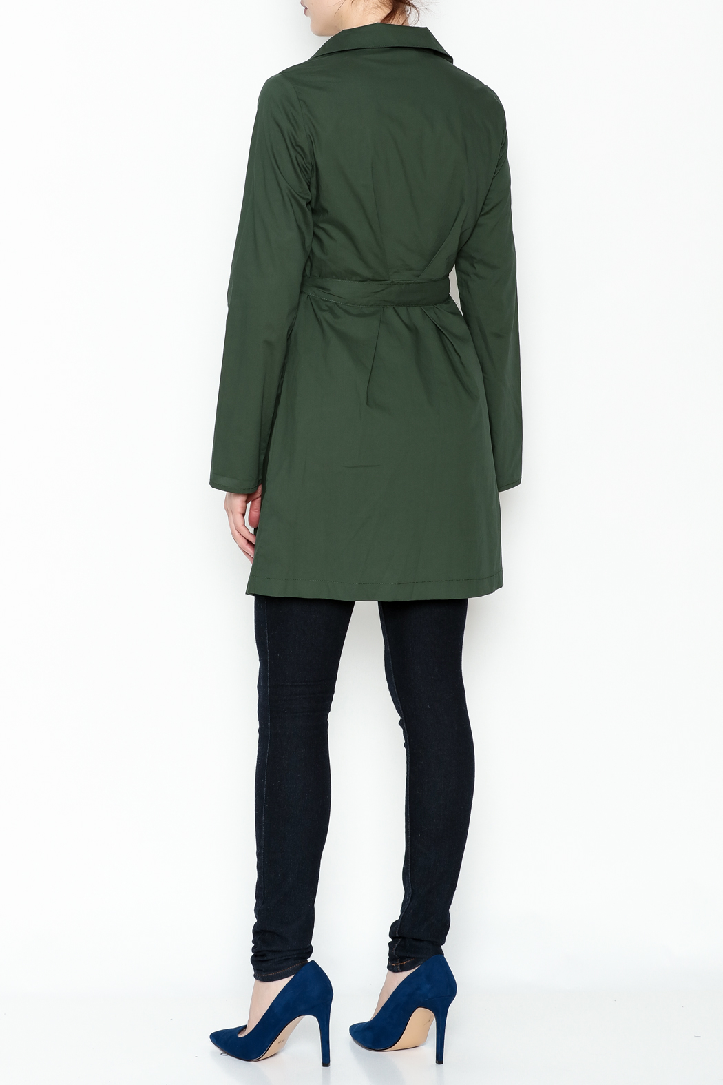 Leshop Lightweight Hunter Jacket - Back Cropped Image