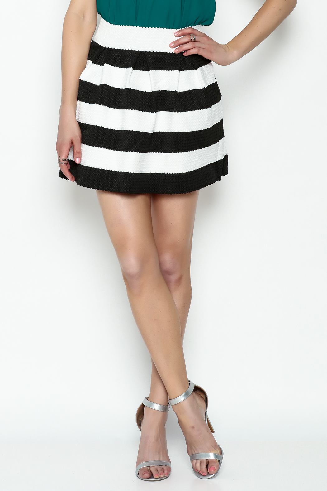 Leshop Samantha Party Skirt - Front Cropped Image