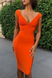 Miss Circle Lesly Bandage Dress - Product Mini Image