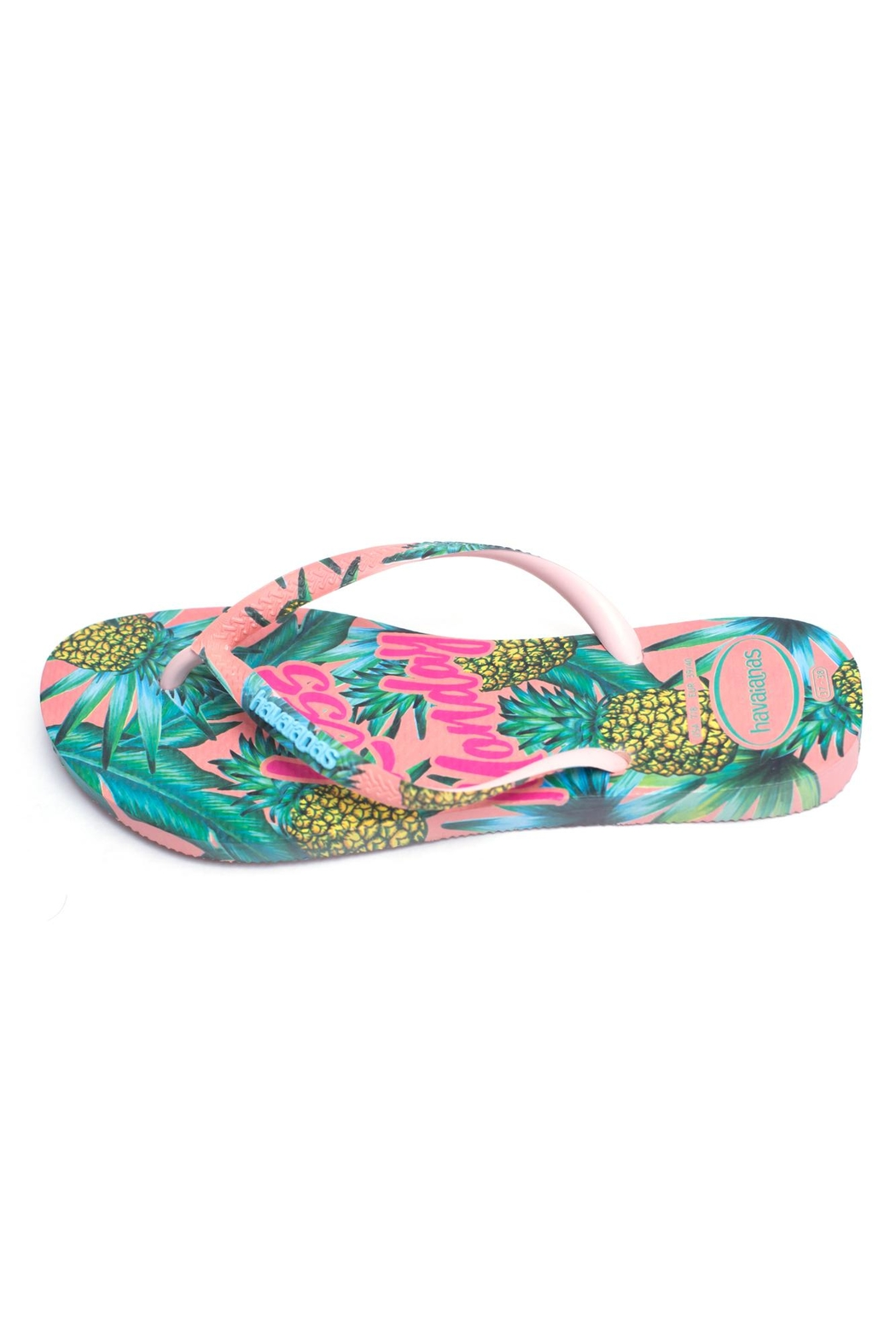 Havaianas Less Monday Sandals - Front Cropped Image