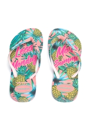 Havaianas Less Monday Sandals - Front full body