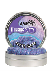 Crazy Aaron's Putty World Let It Glow Thinking Putty - Product Mini Image