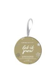 Spongelle LET IT SNOW HOLIDAY ORNAMENT (BODY BUTTER) - Product Mini Image