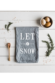 The Oyster's Pearl Let It Snow Tea Towel - Product Mini Image