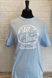 Kindred Mercantile  Let it Snow tee - Product Mini Image