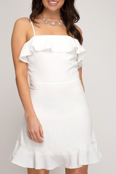 She + Sky Let's Get Away Mini Dress - Product List Image