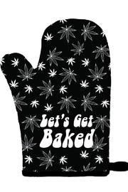 Twisted Wares Let's Get Baked Oven Mitt - Product Mini Image