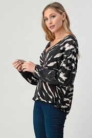 Hashttag Let's Lounge Top - Back cropped