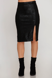 She and Sky Let's Party Skirt - Front cropped