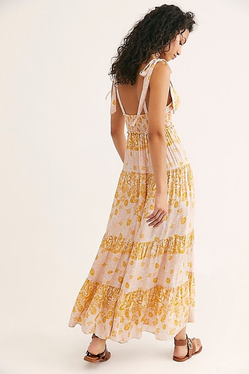 Free People Let's Smock About It Maxi - Front Full Image