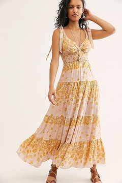 Free People Let's Smock About It Maxi - Product List Image