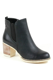 Lets See Style Wood Heel Bootie - Product Mini Image