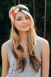 Leto American Flag Headband - Side cropped