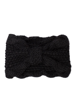Leto Bow Knit Headband - Alternate List Image