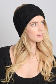 Leto Cableknit Winter Headwarmer - Front cropped
