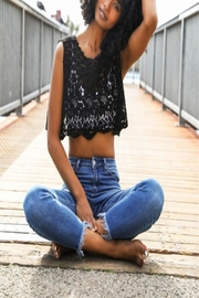 Leto Cropped Crochet Tank - Product Mini Image