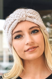 Leto Knit Bow Headbands - Front cropped