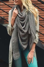 Leto Shredded Weave Scarf - Product Mini Image