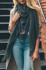 Leto Shredded Weave Scarf - Front cropped
