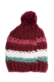 Leto Striped Pom Beanie - Product Mini Image