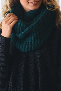 Shoptiques Product: Teal Infiinity Scarf