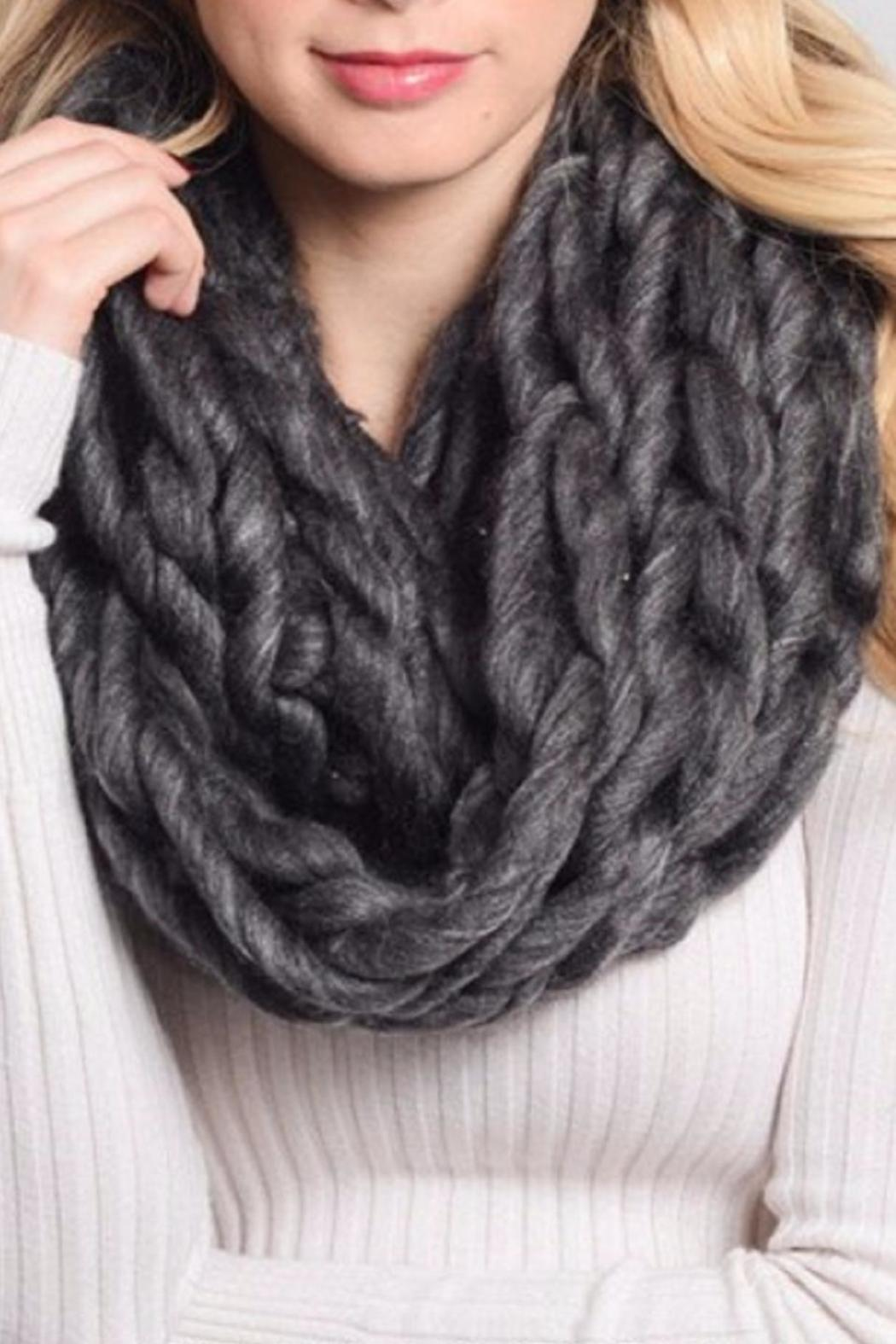 Leto The Cerys Scarf - Front Cropped Image