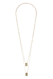 Lets Accessorize Double Wrap Necklace - Product Mini Image