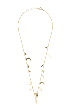 Shoptiques Product: Gold Charm Necklace