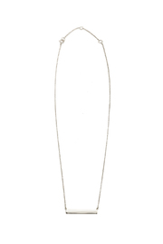 Lets Accessorize Horizontal Bar Necklace - Product Mini Image