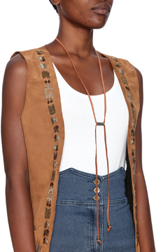 Lets Accessorize Magnetic Leather Choker - Alternate List Image